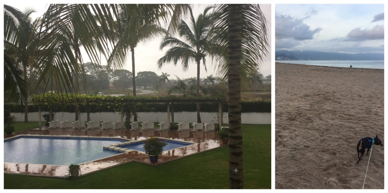 Rainy day in Puerto Vallarta