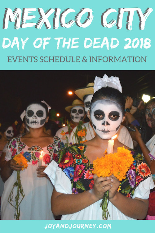 Mexico City Day of the Dead 2018
