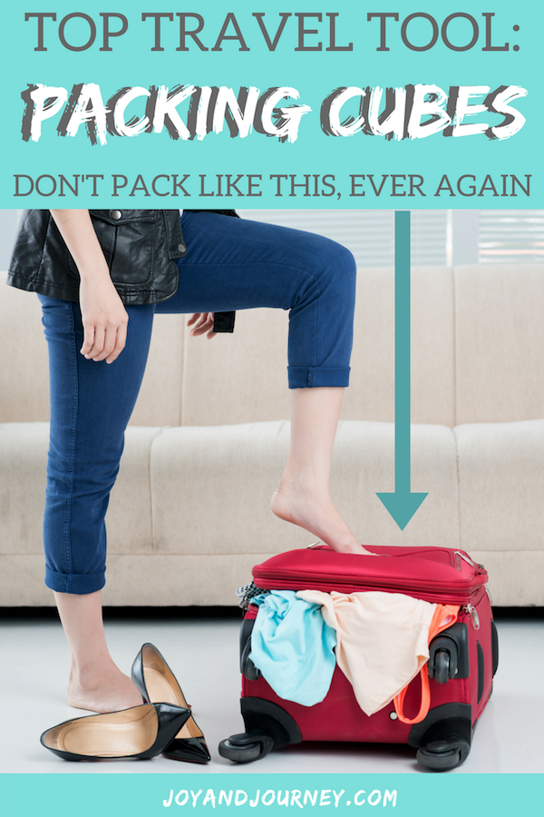 Packing Cubes Top Travel Tool