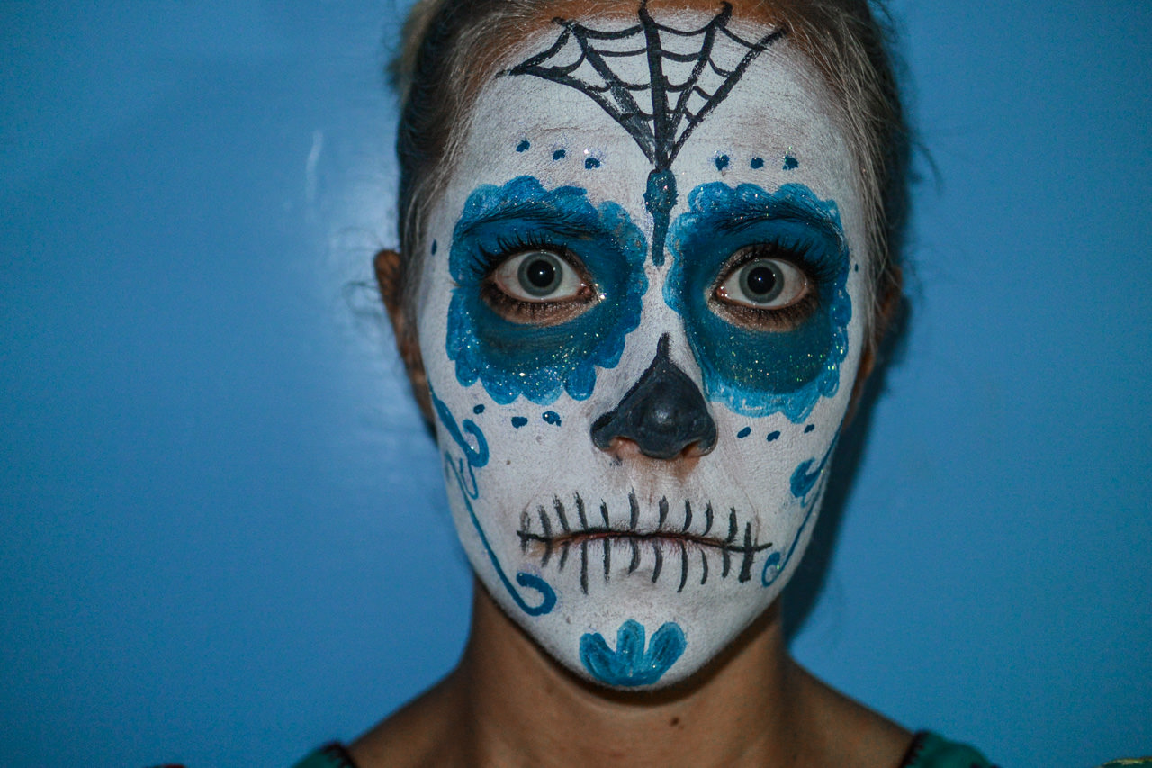 Face for Day of the Dead