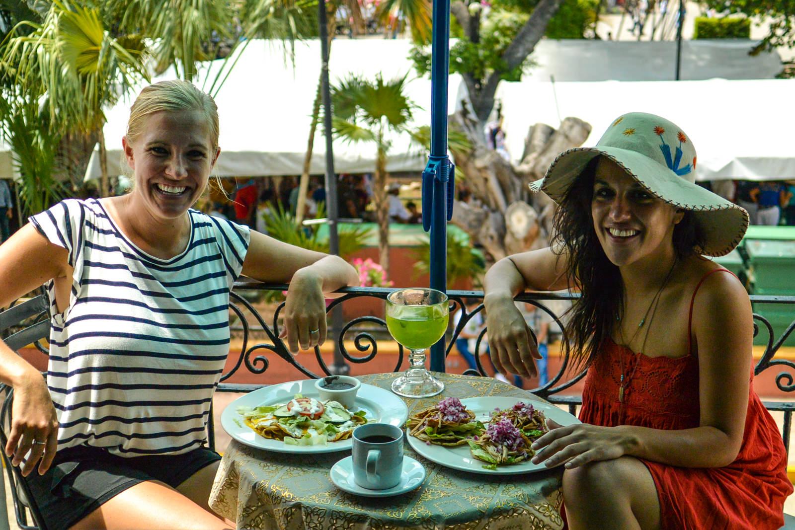 Eating in Merida
