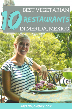 10 Best Restaurants for Vegetarian Food in Merida Mexico