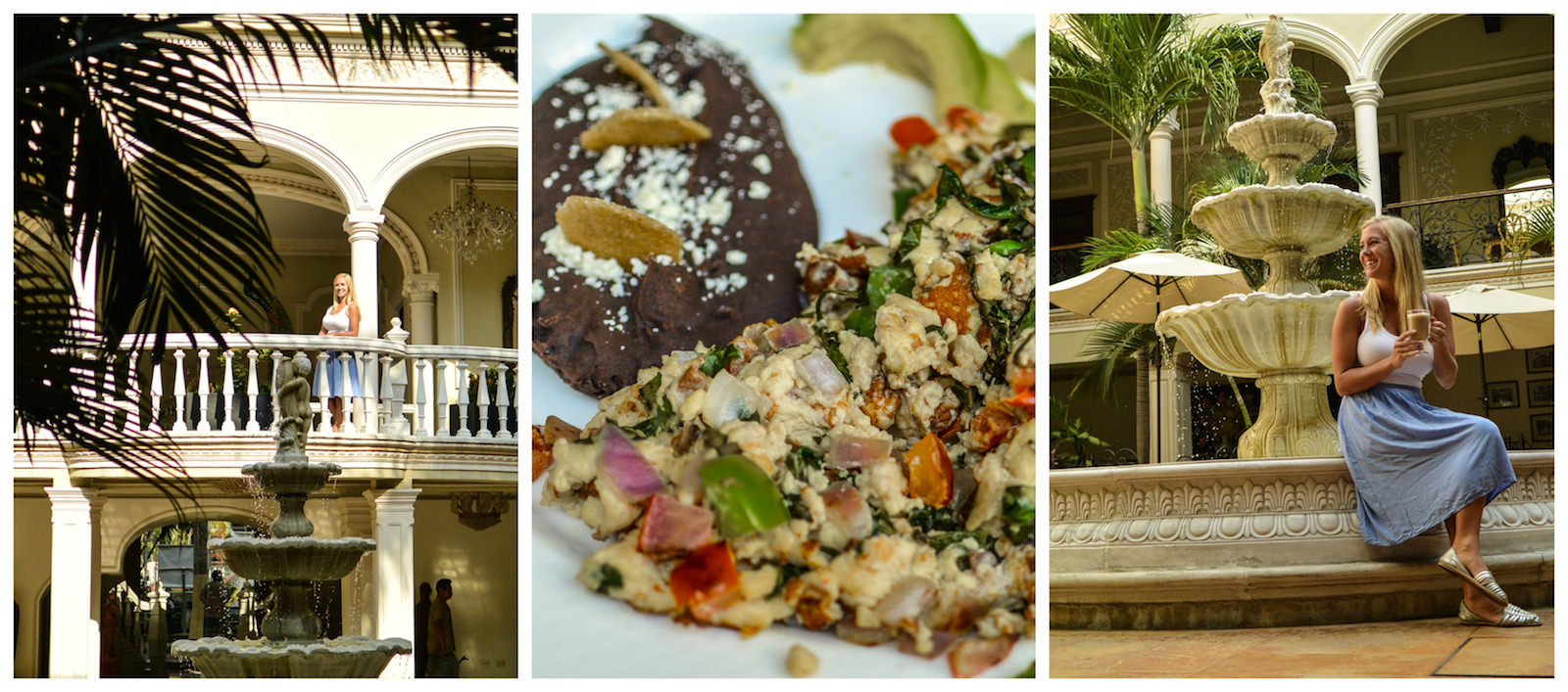 Mansion Merida Mexico Vegetarian Food
