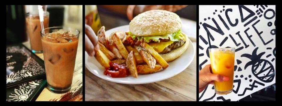 Vegetarian restaurant Dale Pues in San Juan del Sur Nicaragua