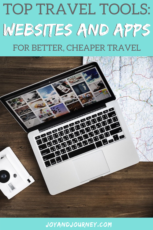 Websites and Apps for Better Cheaper Travel