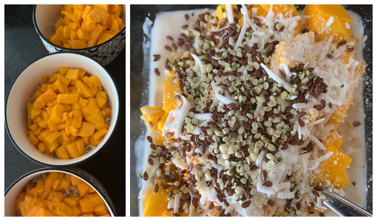 Mango Season Oatmeal