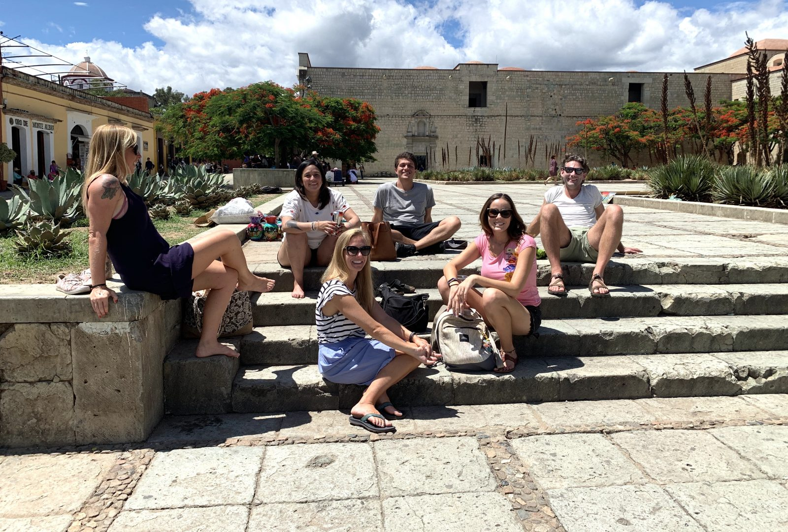 Some of the group in Oaxaca