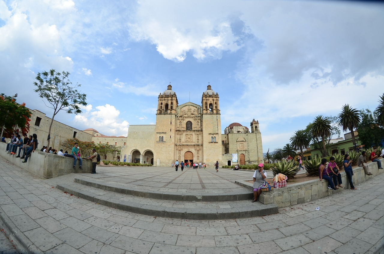 Oaxaca church